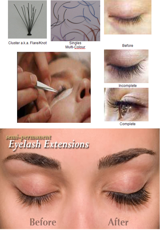 Eyelash Extension Examples