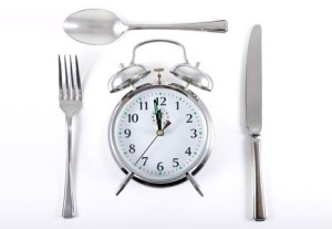 Image clock knife spoon fork